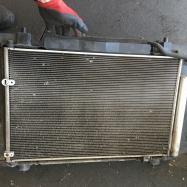 старый радиатор Аурис